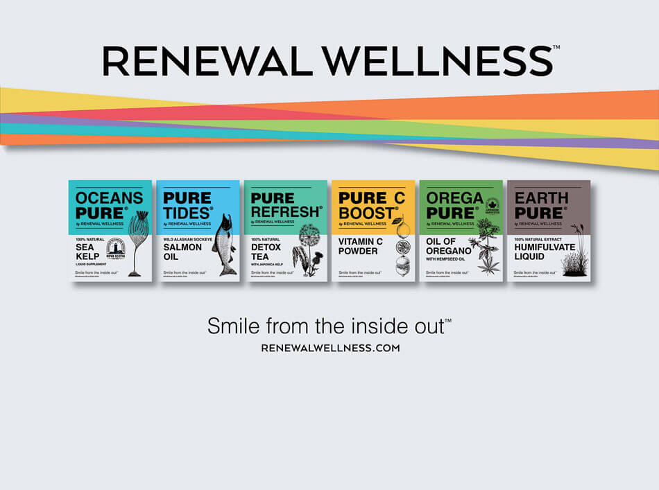 Renewal Wellness smile from the inside out